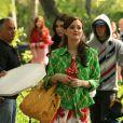 Leighton : pétillante et acidulée sur le tournage de GG...