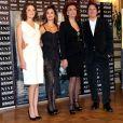 Marion Cotillard, Sophia Loren, Penélope Cruz et Rob Marshall, à l'occasion de l'avant-première italienne de  Nine , à Rome, le 13 janvier 2010.