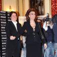 Rob Marshall et Sophia Loren, à l'occasion de l'avant-première italienne de  Nine , à Rome, le 13 janvier 2010.
