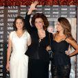 Marion Cotillard, Sophia Loren et Penélope Cruz, à l'occasion de l'avant-première italienne de  Nine , à Rome, le 13 janvier 2010.