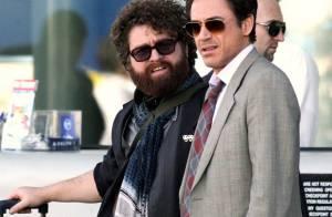 """Regardez Robert Downey Jr. associé au """"Gros Jésus"""" de """"Very Bad Trip"""" pour un road movie dé-li-rant !"""
