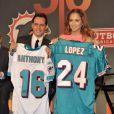 Quand Marc Anthony prend des parts dans une équipe de football américain, il peut compter sur sa Jennifer Lopez pour jouer les supportrices ! Les Dauphins ont de la chance...