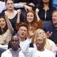 Eva Longoria ne rate aucune prestation de son chéri. Alors lorsque Tony Parker et les Spurs doivent rencontrer les Suns de Phoenix, notre Gaby Sollis préférée est toujours de la partie...