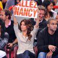 Eva Longoria en maillot de basket, ou portant une ravissante banderole afin de soutenir son beau-frère, Terrence, dans l'équipe de Nancy... la plus symathique de nos supportrices sexy !