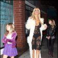 Shauna Sand et ses filles à Beverly Hills. Janvier 2010