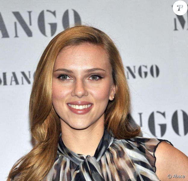 L'actrice américaine Scarlett Johansson