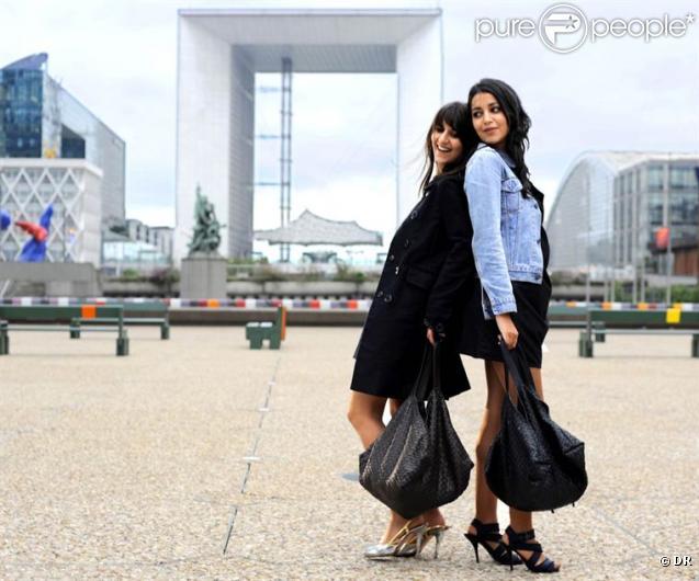 Géraldine Nakache et Leïla Bekhti dans Tout ce qui brille