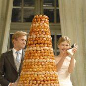 Regardez le mariage de Clémence Poésy... avec une foule de stars comme la délirante Julie Depardieu !