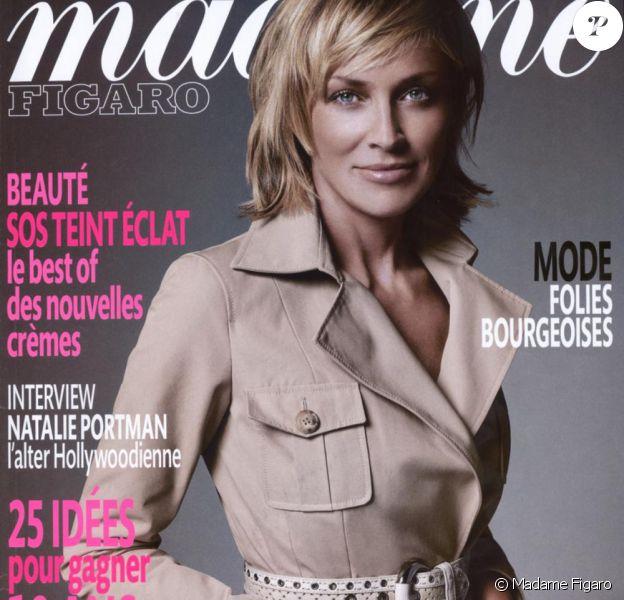 Sharon Stone pour Madame Figaro