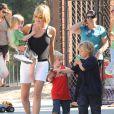 Sharon Stone et ses enfants