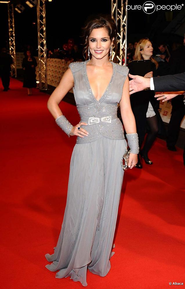 Cheryl Cole aux National Television Awards, à Londres le 20 janvier !