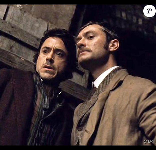 Des images de Sherlock Holmes.