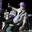 Justin Bieber met le feu au Palladium de Los Angeles, le dimanche 14 février, devant 4 000 fans !