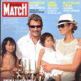 Johnny Hallyday en famille avec Laeticia, Jade et Joy