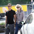 Gwen Stefani et Gavin Rossdale en amoureux le 14 février à Los Angeles