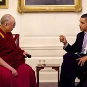 Barack Obama reçoit le dalaï-lama et provoque la colère de la Chine !