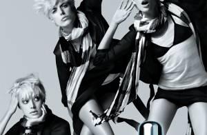 Photos : La superbe Agyness Deyn, relève de Kate Moss, prend la pose pour Burberry...