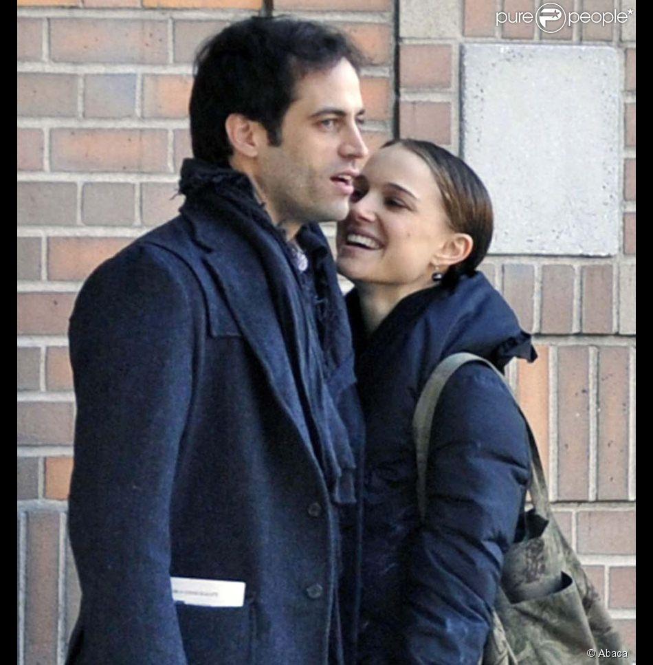Natalie Portman et son compagnon Benjamin Millepied...