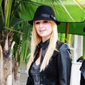 Paris Hilton : Le cocktail grunge-borsalino ? Perfecto !