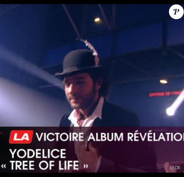 Yodelice (plus connu sous le nom de Maxim Nucci) remporte la Victoire de l'Album révélation.