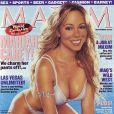 Mariah Carey, légèrement retouchée mais diablement sexy en couverture de Maxim (septembre 2003)