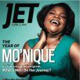 Mo'nique en couverture de Jet magazie (avril 2010) : so glamorous !