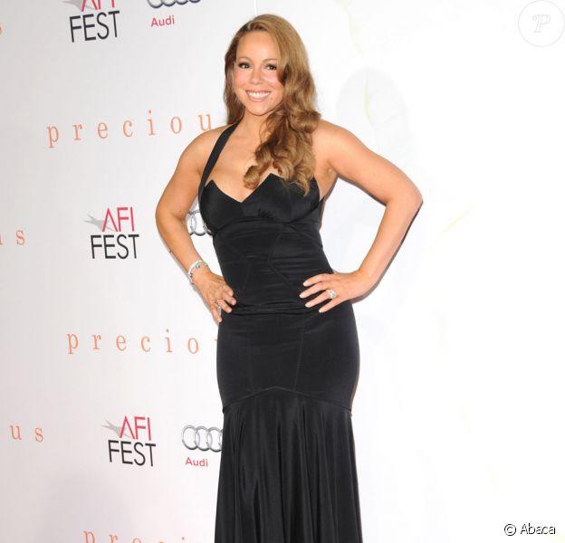 Mariah Carey, toujours glamour sur tapis rouge
