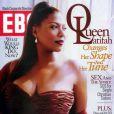 Queen Latifah en couverture d'Ebony (janvier 2005)