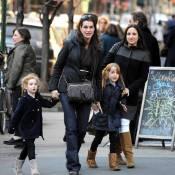 Brooke Shields : Quand elle retrouve ses fillettes rousses, elle reste 100% nature ! On adore !