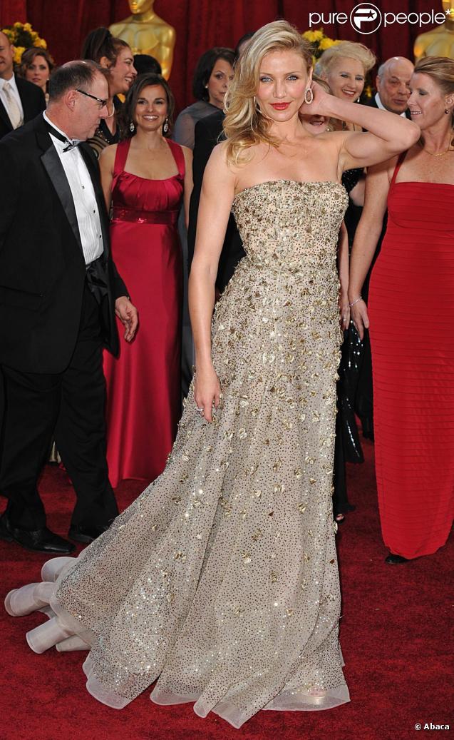 Oscars 2010 , Cameron, Diane, Zoe, Demi  les plus belles robes de la  somptueuse soirée !