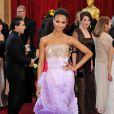 Zoe Saldana dans un modèle Givenchy à la 82e cérémonie des Oscars à Los Angeles