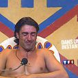 En hutte d'interview, Greg Basso craque...