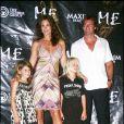 Cindy Crawford et Rande Gerber et leurs enfants Kaya et Presley