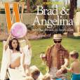 Brad Pitt et Angelina Jolie en couverture de W