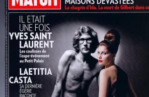 Laetitia Casta presque nue, évoque sa belle relation avec Yves Saint Laurent...