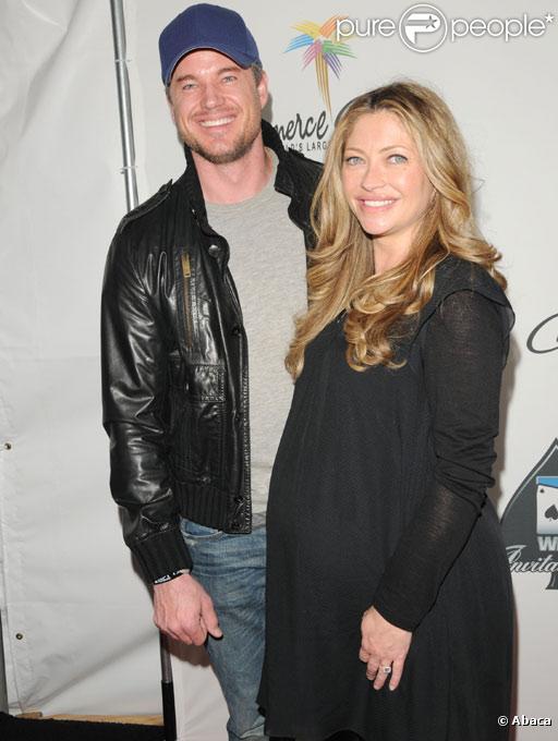 Rebecca Gayheart et Eric Dane en février 2010