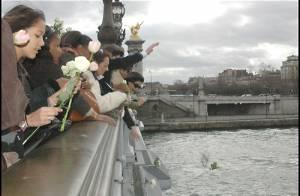 Katoucha : en photos, l'ultime hommage qui lui a été rendu par ses proches Pont Alexandre III...