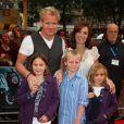 Le grand chef Gordon Ramsay en famille, à Londres le 7 juillet 2009 !
