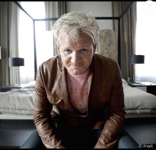 Le grand chef Gordon Ramsay, à Stockholm, le 2 novembre 2009 !