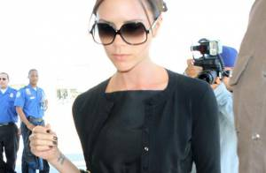 Victoria Beckham : Très inquiète pour son mari, elle vole à son chevet !