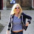 Geri Halliwell à Londres, le 16 mars 2010