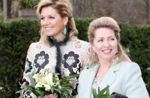 La princesse Maxima des Pays-Bas se couvre de fleurs devant l'épouse du président russe !