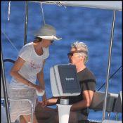 Richard Gere : Avec sa femme Carey Lowell, il nous rejoue le Love Boat... Appelez-le Cap'tain !