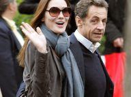 Carla Bruni et Nicolas Sarkozy ont débarqué souriants à New York... loin de la chute de popularité en France !