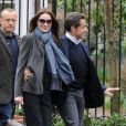Carla Bruni et Nicolas Sarkozy à New York le 28 mars 2010