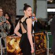 La très belle Gemma Arterton, en Gucci, à l'occasion de l'avant-première mondiale du  Choc des Titans , qui s'est tenue à l'Empire Cinema de Leicester Square, à Londres, le 29 mars 2010.