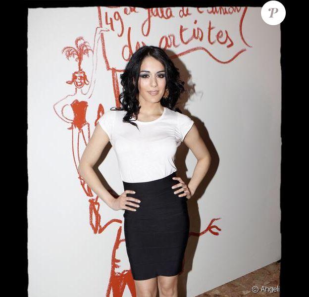 Sofia Essaïdi pour le gala de l'Union des Artistes au Cirque d'Hiver Bouglione le 29 mars 2010