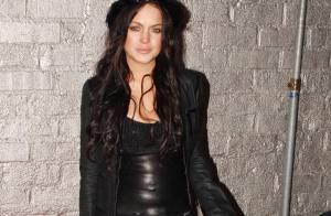 Lindsay Lohan : Début de soirée souriante... fin de soirée mi-sé-rable !