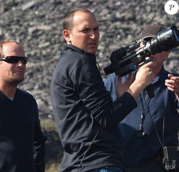 Louis Leterrier sur le tournage du Choc des Titans.