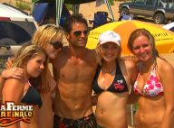 La Ferme Célébrités en Afrique : Regardez David entouré de jolies blondes sur la plage pendant que Vendetta... se prend pour Brice de Nice !